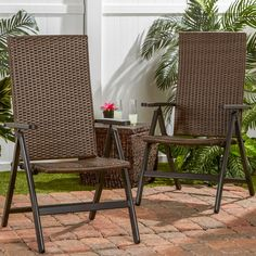Found it at Wayfair - Hand Woven Polyethylene Wicker Outdoor Reclining Lounge…