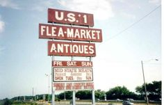 Flea Market: Top 20 Flea Markets in the US (on a map)