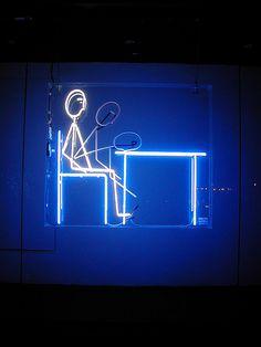 'Bang' #Neon by artist Sanja Pahoki