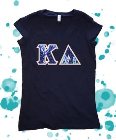 NEW Canvas Shirt Triple Tau Phi Sigma Kappa Fraternity Bella
