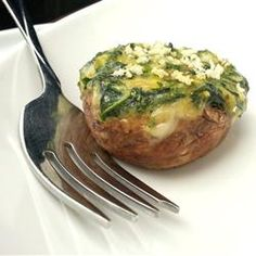 Spinach Stuffed Mushrooms Allrecipes.com