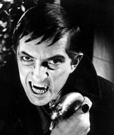Barnabas from Dark Shadows. A vampire from the 1960's