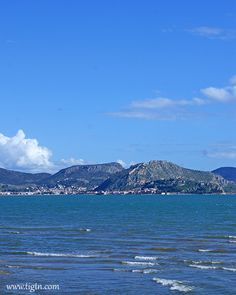 Looking at from the coastal road to in - Argo, Greece, Coastal, Mountains, Nature, Travel, Viajes, Naturaleza, Destinations