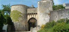 Porte Bergère de Le Dorat, situé sur la commune de Dorat, Haute-Vienne, Limousin,France.