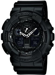 G-Shock Watch Alarm Chronograph X-Large #bezel-fixed #brand-casio-g-shock #case-depth-16-9mm #case-width-55-0-x-51-2mm #clasp-type-tang-buckle #classic #date-yes #delivery-timescale-call-us #dial-colour-black #gender-mens #movement-quartz-battery #official-stockist-for-casio-g-shock-watches #packaging-casio-g-shock-packaging #packaging-casio-g-shock-watch-packaging #price-match-done #sale-item-yes #subcat-core-mens #supplier-model-no-ga-100-1a1er…