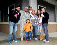 UFC fighters held a meet & greet with Service Members at the Warrior Zone here at JBLM, Dec. 6, 2012. The fighters included: the Flyweight Champion Demetrious Johnson, former Strikeforce Women's Bantamweight Champion Miesha Tate, Bryan Caraway, Brendan Schaub and Court McGee.   --U.S. Army photo by Maj. Johnpaul Arnold via I Corps Facebook page