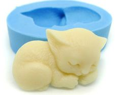 Sleeping Cat 26mm Bakery Flexible Push Mold 170m BEST QUALITY