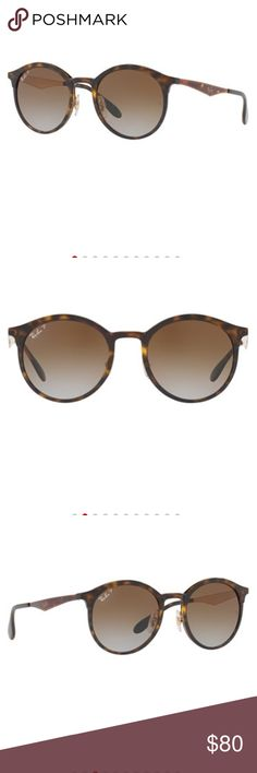 928204e3c2f RAY BAN POLORIZED EMMA SUNGLASSES new without tags