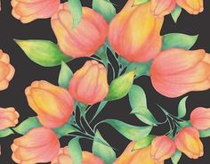 """Check out new work on my @Behance portfolio: """"Tulipas"""" http://be.net/gallery/41572673/Tulipas"""