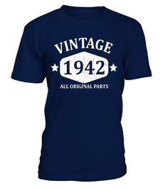 """# Funny Vintage 1942 75th Birthday Gift T-shirt Best Emoji Tee . Special Offer, not available in shops Comes in a variety of styles and colours Buy yours now before it is too late! Secured payment via Visa / Mastercard / Amex / PayPal How to place an order Choose the model from the drop-down menu Click on """"Buy it now"""" Choose the size and the quantity Add your delivery address and bank details And that's it! Tags: Birthday gift for mom dad"""