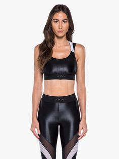 High fashion activewear for highly active lives. Mädchen In Leggings, Shiny Leggings, Tights, Womens Workout Outfits, Sport Outfits, Leather Pants Outfit, Fitness Wear Women, Yoga Pants Girls, Latest Fashion Design