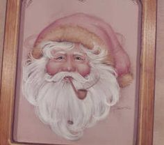Santa Tole Painting Patterns   Decorative Painting Bookstore Santa Face 'Twas The Night Before ...