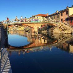 #igerslombardia #ig_fotoitaliane #igersmilano #loves_milano #vivomilano #vivo_italia #vialattea #fai #Gaggiano #Navigli #landscape_lovers #travelgram #huntgram #river #Milano #milanodaclick #milanodavedere by emanuelarizzo1