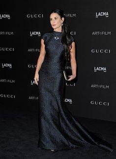 2014 LACMA Art + Film Gala - Demi Moore in Zac Posen