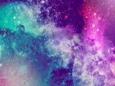 blue, pink, purple, stars, universe