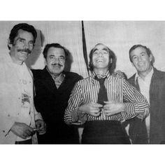 Dinastía. Ramón, Germán, Manuel y Antonio: los cuatro hermanos Valdés a inicios de los años 70.  Archivo