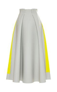 Grey Whiston Skirt by Roksanda Ilincic for Preorder on Moda Operandi