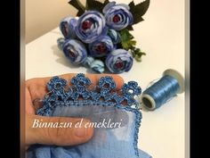 Sıralı Tek Renk Zarif Bir Tığ Oyası(Bence süper)🤩✂️ Crochet Earrings, Youtube, Needlepoint, Cast On Knitting