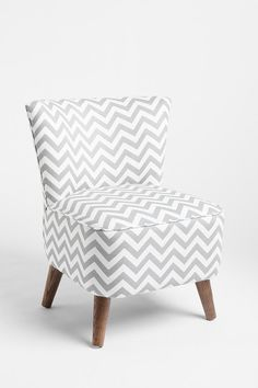 LOVE! So into chevron patterns right now... especially in gray and yellow! However, I do not love the price...