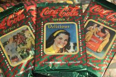 Coca Cola 1993 Collectors Trading Cards 3 by RaeosunshinePets, $7.00