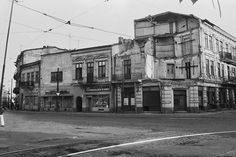 Cal Vacaresti 18-26 colt cu Sticlari - Fotografia postată de Cartierul Evreiesc. Bucharest, Old City, Old Pictures, Time Travel, Street View, Memories, Country, Dan, Traveling
