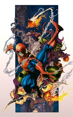 thanks for who have given me permission coloring his art work. Original pencil Sketch by [link] Digital inking and coloring by character © Marvel Spiderman Vs. Comics Spiderman, All Spiderman, Marvel Comics Art, Marvel Heroes, Marvel Comic Character, Comic Book Characters, Marvel Characters, Comic Books Art, Comic Art