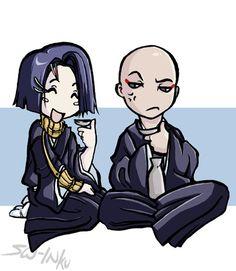 Bleach ~~ Yumichika and Ikaku by ~sw on deviantART