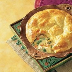 Easy Chicken Recipes | Easy Chicken Pot Pie Recipe | MyRecipes.com