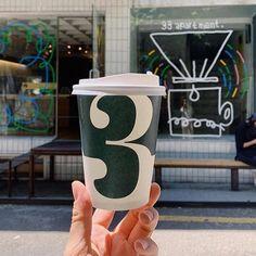 Country: 🇰🇷 Location: Seoul, South Korea Cafe: @33apartment Take Away Coffee Cup, Coffee Cups, Korea Cafe, South Korea, Drink Sleeves, Seoul, Country, Instagram, Coffee Mugs
