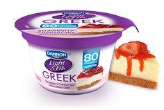 Dannon Light & Fit® Greek Yogurt - Strawberry Cheesecake