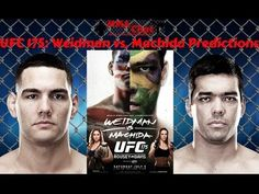 UFC 175: Weidman vs. Machida Predictions On 'The MMA Live Chat Show' (Live Broadcast) -  On the season 2 episode 21 show of 'The MMA Live Chat Show' we did our 3rd live broadcast on YouTube... the guys discuss the UFC 175: Weidman vs. Machida main card and give their predictions.  #UFC175 #Predictions #WeidmanVsMachida #MMAChat