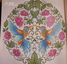 Another Colouring To Share From The Johanna Basford Book