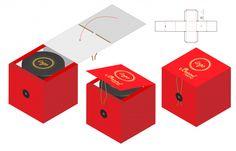 Box packaging die cut template design Premium Vector Easy Paper Crafts, Cardboard Crafts, Creative Gift Wrapping, Creative Gifts, Chocolate Box Packaging, Die Cut Boxes, Food Packaging Design, Die Cutting, Reuse