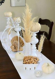 35 Tender White Thanksgiving Décor Ideas | DigsDigs