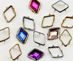 10X7MM Silver Diamond Rim Settings – 40 Pieces Review