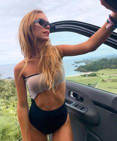 #tropical #fashion #beach #sun #sand #fun  #travel #love #cute  one or more people, sky, cloud, outdoor and nature. Boho Beach Style, Swimsuits, Bikinis, Swimwear, Tropical Fashion, Fun Travel, Boho Fashion, Clouds, Sky