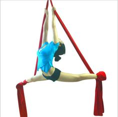 1-Meter-Aerial-Yoga-Hammock-Band-Swing-Deluxe-For-AntiGravity-Pilates-Suspension