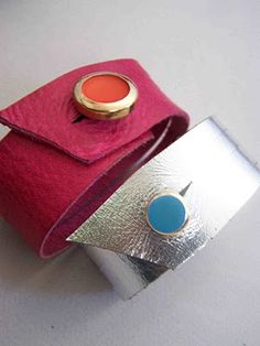 Made by Me. Shared with you.: Women's Leather Coil Cuff