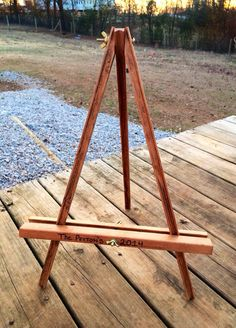 Large Chalkboard Easel - Sizes Most All Sizes - Easel - Picture Easel - Wedding…