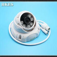 HKES Full HD 1920*1080P Mini POE IP CAM 2MP IR Night vision Dome Network Video surveillance POE Camera #Affiliate