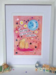 "Colour DIY kit Paint MDF Bauble /""North Star/"" Embellish"
