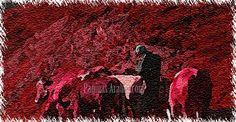 Durante el verano, Yuhanna salía todas las mañanas a los campos, conduciendo sus bueyes y llevando al hombro el arado...
