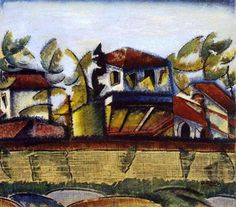Ottone Rosai - Follie estive, 1918-19