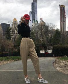 minus that stupid ass hat Fashion Killa, 90s Fashion, Vintage Fashion, Fashion Outfits, Fashion Trends, Tomboy Fashion, Tomboy Aesthetic, Vans, Ootd