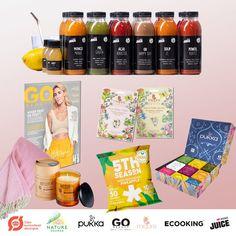Ecooking_oktober_pakke Nature Source, Frozen Pineapple, Happy Day, Juice, Mango, Coffee, Pineapple, October, Manga