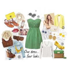 Summer Dress, created by emilychilton on Polyvore