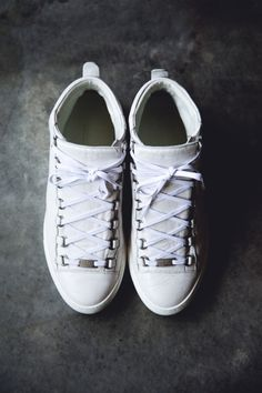 White Balenciaga Arena High sneakers