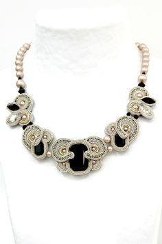 Desiree elegant Art Deco bridal necklace by Dori Csengeri. #DoriCsengeri #bridal…