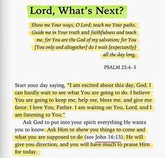 I WAIT EXPECTANTLY FOR U GOD!!!