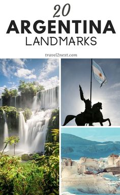 20 Incredible Landmarks in Argentina. Hidden in the depths of the Argentine rainforest are the ruins of San Ignacio Mini. The ruins were once part of a 17th-century Jesuit mission, whose aim was to convert the native population to Christianity. #argentina #landmarks #southamerica #travel #nature #monuments #argentinatravel